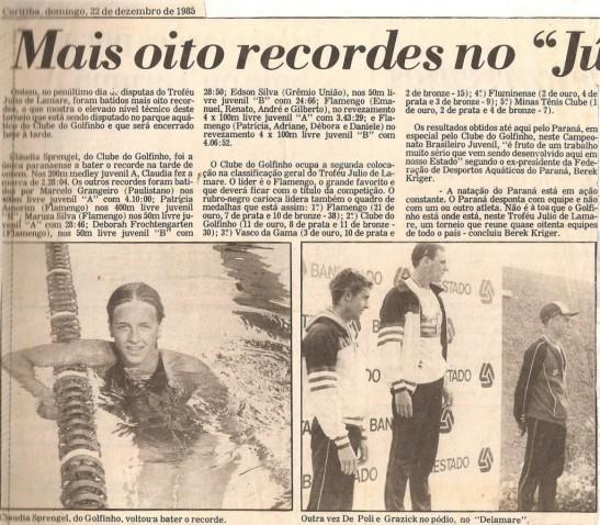 Gazeta do Povo e os resultados do 3o dia.