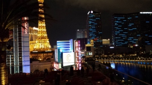 Las Vegas Strip vista do Drai's Night Club