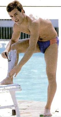 Cicero Torteli, que em 1993 ainda era recordista de 100 peito em longa.
