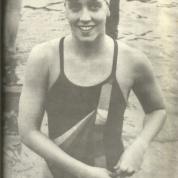 Renata Agondi ganhando mais uma Ilhabela Caragua em 1987 (e nessa eu ganhei dela...)