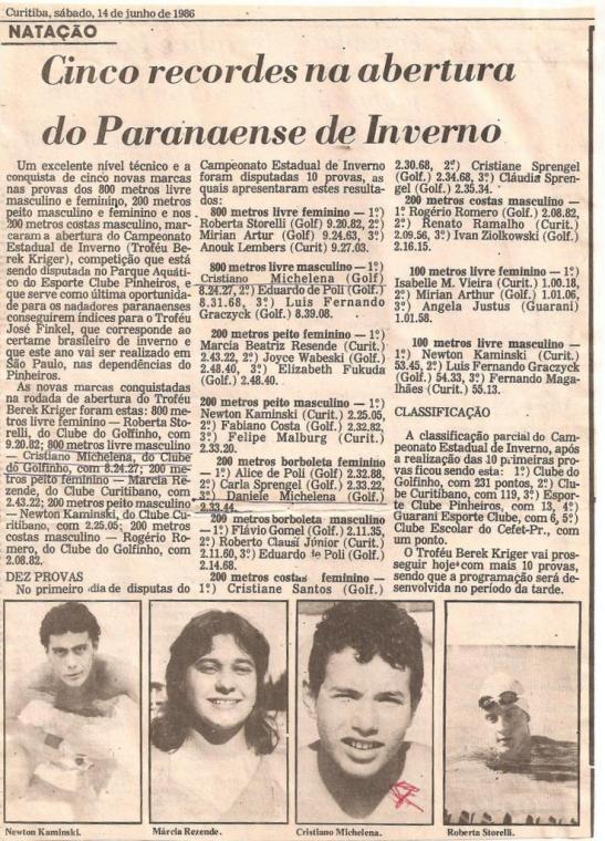 Gazeta do Povo - acervo da família Michelena.