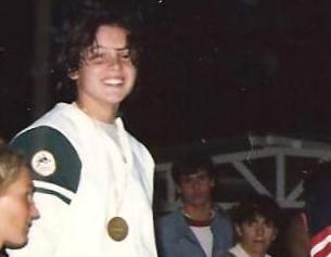 Isabele Vieira em 1986