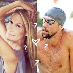 """Hoje dizem as más línguas que o feioso Phelps pega essa """"donzela"""" aí..."""