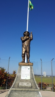 Estátua do astronauta Marcos Pontes