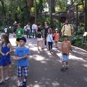 Zoo de Bauru com a família