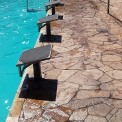 Novas balizas, nova piscina