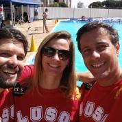 Fernando Munhoz, Paula Ferratone e eu