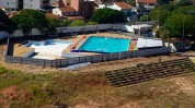 O que restou da Luso - só as piscinas