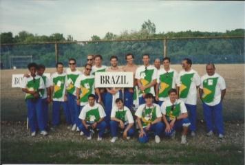Equipe do Brasil Universíade de Buffalo 1993.
