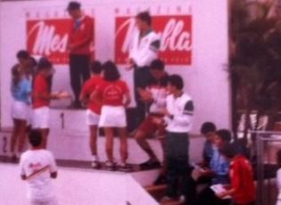 LAM com o bronze no peito. Ramalho e Fafá aplaudem Vicente, enquanto Hermeto aguarda pelo ouro.