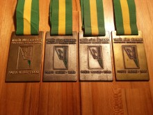 Ouro, prata, prata, bronze