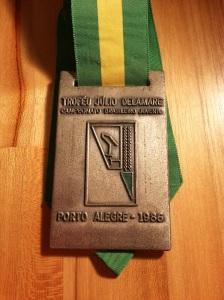 prata 100m livre