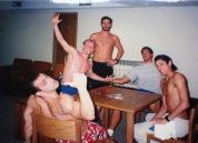 Truquinho para descontrair. Massura, Tomazini, Cassiano, Gustavo Borges e Fabio Mauro