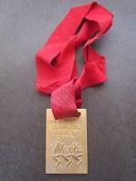 50m livre - medalha
