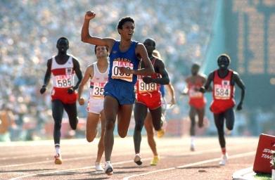 Joaquim Cruz: ouro olímpico.