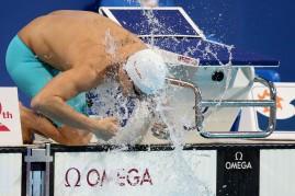 No mundial, 6 de agosto, Henrique piora 1.46 e perde a chance de medalha (com o tempo do Pan, ficaria em quarto a 19 centésimos do bronze). Foto: Satiro Sodre/SSPress