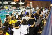 Corinthians mesmo sem disputar o título estava bastante animado!