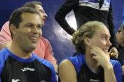 Coach Amém e Manuela Lyrio