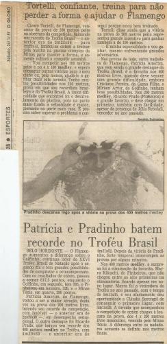 O Globo - 24/01/1987 (acervo da família Michelena)
