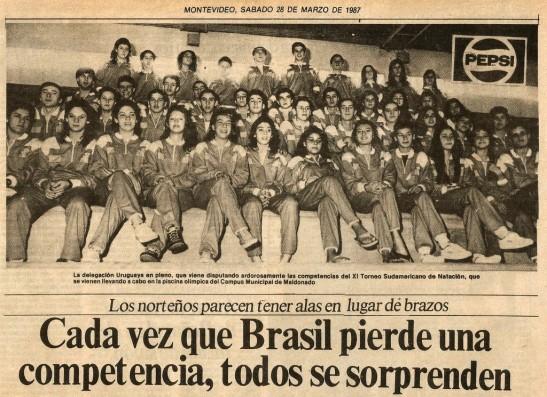 Jornal uruguaio - 2o dia