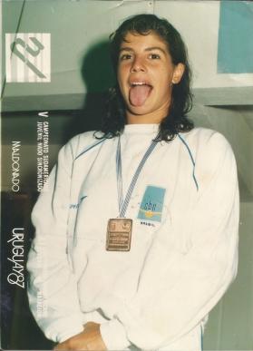 Renata Carneiro, recordista brasileira, mais uma carioca que veio para Curitiba treinar no Curitibano.