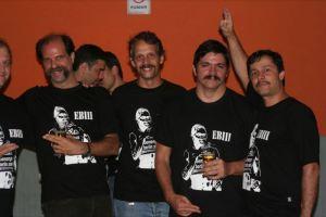 Saudosa Expobigodada, festa que nadadores organizavam para rever os colegas de piscina. Os organizadores eram obrigados a ir de bigode!