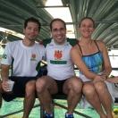Niwa, Ramina e a campeã mundial Iara Scarpelli