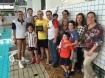 Morel Bueno, Bernardo Ramina, Joel Kriger e família