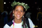 Joanna Maranhão, 17, minutos após o quinto olímpico. A foto peguei aqui: http://www.bestswimming.com.br/especial-2014/o-melhor-resultado-olimpico/.