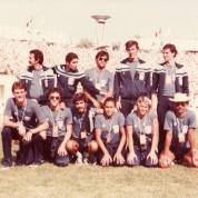 A equipe da Universíade de Bucarest 1981. Foto de Luiz Carvalho.
