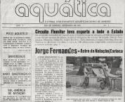 Capa da PRIMEIRA Aquatica 1981.