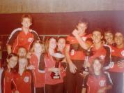 Equipe do Flamengo em approx 1982. Foto de Rosamaria Prado.