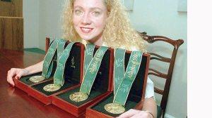 As 4 medalhas olímpicas