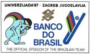 Ramalho e Kaminski foram os representantes do Curitibano nas Universíades.