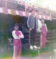 Regional no Ibirapuera primeiro semestre de 1981, com Luís Fernando Baroni e Jorge Taiar.