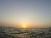 Cartagena - Outro Mar, outro pôr do sol