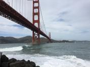 ... Fort Point - bem embaixo da Ponte!
