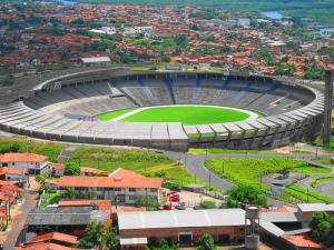 """O """"Castelão"""" de São Luiz foi reformado em 2004. Em 1996, quando ficamos lá, era bem mais precário!"""