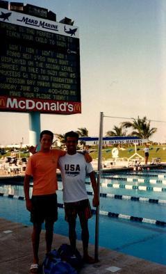 Com meu amigo Julio Rebollal