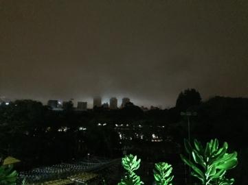 madrugada fria em Sâo Paulo...