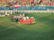 Esposito saltando com a égua Equador-Itapuã