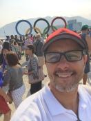 no Parque Olímpico
