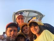 Família passeando no Novo Rio Olímpico