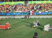 Lirtuana Laura, eliminada, dando adeus ao sonho olímpico