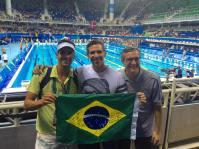 Olímpicos Luiz Lima, Fernando Saez e Romero (do FB do Luiz)