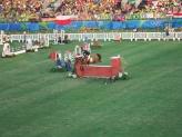 Salto da Nowacka com a égua Verona