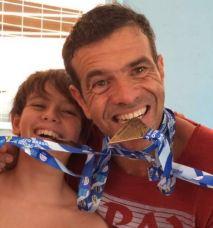 Luiz Henrique e filho Felizões