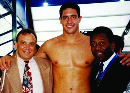 Cagnoni, Borges e Pelé. A lei que leva o nome deste último quer atletas participando, mas o Coaracy não quer...