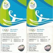Ingressos no meu nome para a semi e para a final olímpica.