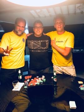 Poker night 3o, 2o e 1o lugares